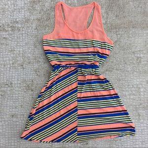 Volcom Dresses - Volcom Orange Racerback Dress